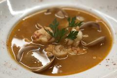 Restaurante-La-Pubilla-Esplugues-De-Llobregat-Sopa-Pescado-Fin-De-Semana
